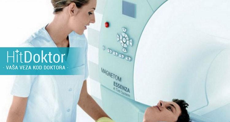 Magnetna rezonanca jedne regije SA KONTRASTOM u ekskluzivnom Dijagnostičkom centru Hram