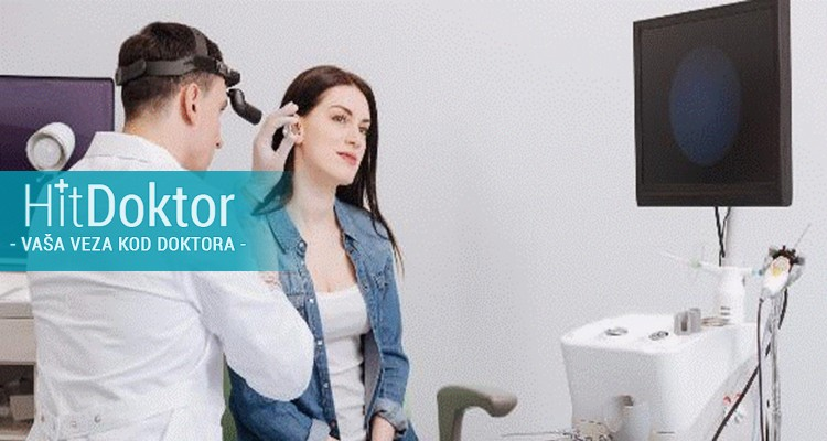 Pregled lekara specijaliste ORL(larinkoskopija, otoskopija, rinoskopija) u Poliklinici Gracia Medika po HITceni 2200din umesto 5500din
