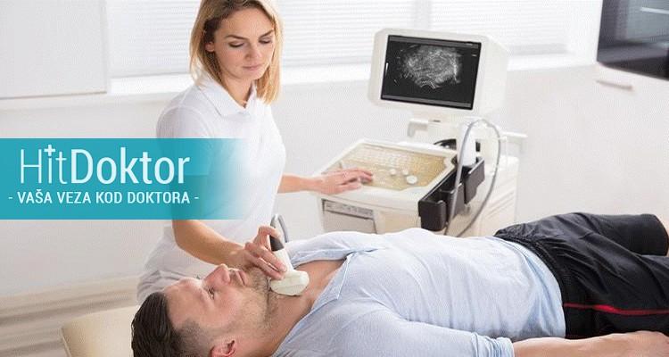 SPRECIJALISTIČKI. PREGLED INTERNISTE I ULTRAZVUKA PO IZBORU: ultrazvuk stitaste zlezde, ultrazvuk abdomena ili besika u poliklinici GRACIA Medika po HITdoktor ceni 1680din umesto 6200din