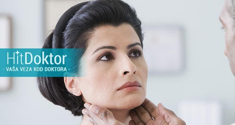 pregled endokrinologa, endokrinoloski pregled, ultrazvuk štitne žlezde, popusti