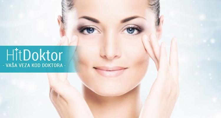 Donji i gornji kapci najvećih pokazatelja starosti, umora, Višak kože, sitne bore,Najbolje rešenje je korekcija regije oko očiju, aparatom jett plasma.