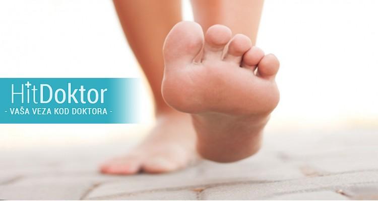 Detaljan pregled stopala,postojećih problema, deformiteta, spuštenih svodova, obima pokreta,  pregled položaja stopala, nogu, kukova, kičmenog stuba i celokupne posture