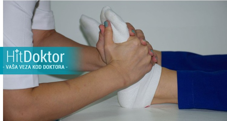 refleksologija, limfna drenaža, trakcija, mobilizacija zglobova i manuelna masaža.