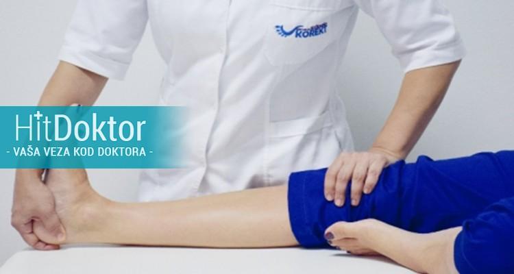 procene posture, antopometrijskih mera, analize hoda, proveru periferne cirkulacije, tonus i trofiku mišića, testove senzibiliteta i refleksne aktivnosti